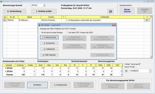 KV-Abrechnung | Praxissoftware